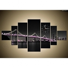 FotoZegar - 100 x 200 cm - idealny prezent! Ozdoba mieszkania / domu Most! Kliknij w zdjęcie, by przejść do sklepu! SmartGift.pl