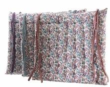 Kwieciste poduszki na krzesła