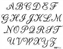 Ozdobna kaligrafia.