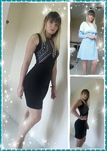 oraz 2  sukienki po pracy ;)
