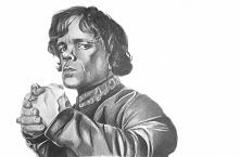 Wykonuję portrety na zamówienie - moja najnowsza praca Tyrion Lannister z &qu...