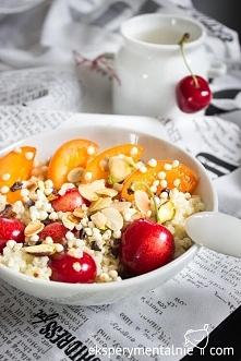 Kasza jaglana na słodko na śniadanie / Gluten free millet porridge with fruit...