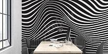 Iluzja optyczna na ścianie - podoba się Wam?