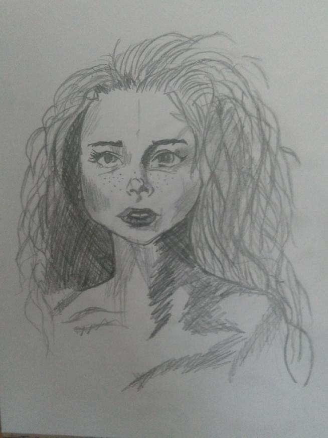 Mój pierwszy portret i jak myślicie?
