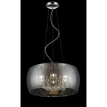 RAIN P0076-06X-F4K9 ZUMA LINE Lampa wisząca  Lampa Rain to połączenie kryształków z imitacją deszczu. Nowoczesny wygląd lampy przypadnie do gustu nie tylko osobom, które szukają...
