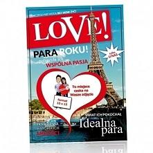Ramka LOVE, dzięki której Wasze zdjęcie znajdzie się na okładce magazynu! Kli...