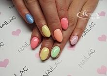 Kolorowe pastelki SPN Nails...
