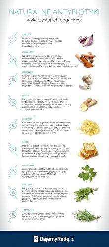 naturalne antybiotyki