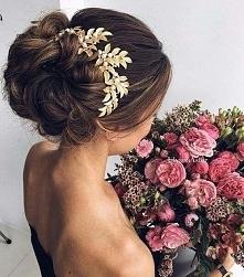 Cudowne upięcie weselne :)