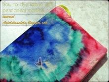 Barwienie markerami Diy