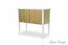 Komoda lustrzana Glass Collection by Rom Design