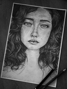 Moja najnowsza praca ^^ Rysuję portrety i inne na zamówienie :] Zapraszam Kon...