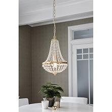 GRANSO to lampa wisząca o imponującym wyglądzie. Klosz lampy został wykonany ...