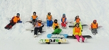 Grupa Snowboard w Andalo :D