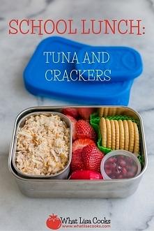lunchbox z tuńczykiem