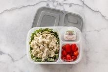 lunchbox - sałatka z kurczaka