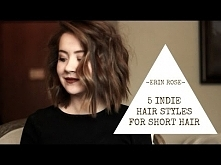 5 Hairstyles for Short Hair...