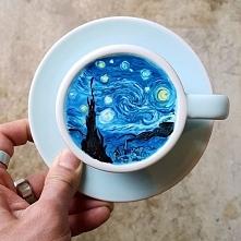 Sztuka w kawie :D
