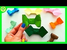 Jak zrobić Muchę Origami / How to make an Origami Bow Tie