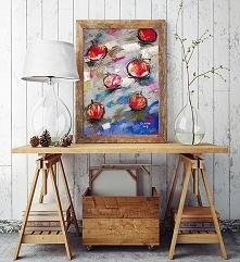 Jabłka 29 - rysunek pastelami