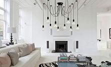 Lampa wisząca Spider- pomysł na oświetlenie, które pasuje zarówno do wnętrz r...