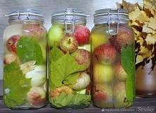 Kiszone jabłka, przysmak Słowian  Kiszone jabłka zachowują wszelkie dobroczyn...