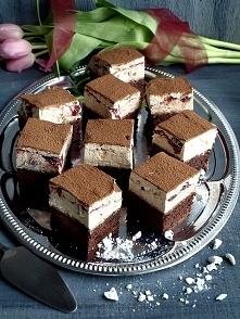 Kostka hiszpańska  Składniki: (na formę 24x24 cm)  ciasto      125 g masła (l...