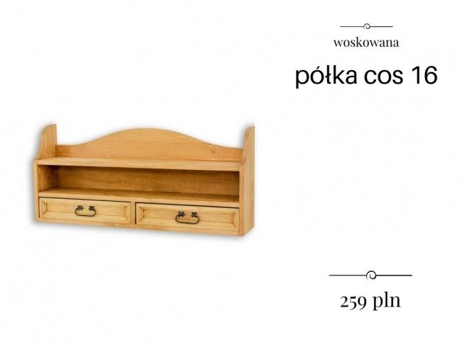 Półka Drewniana Do Kuchni Lub Salonu Na Półki Z Litego