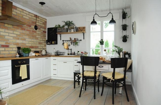Projekt Farmhouse Kuchnia W Wiejskim Stylu Projekt Wnętrza
