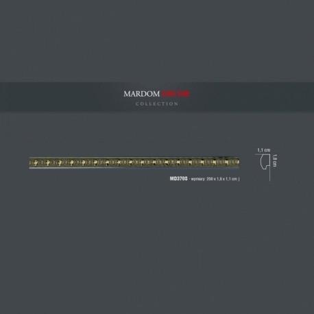 Ozdobna listwa ścienna MD370S Mardom Decor. Doskonale komponuje się w klasycznych wnętrzach, gdzie panuje harmonia i duża dbałość o detale. Dostępna jest w sklepie online Dekorplanet.pl
