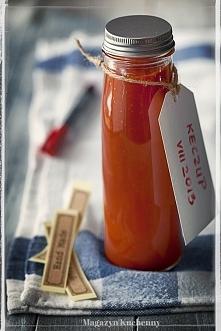 Wyśmienity domowy ketchup. Przepis po kliknięciu w zdjęcie.