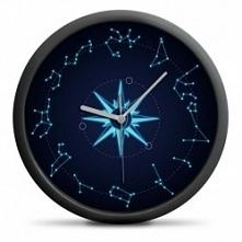Zegar Astrologiczny- Zegar ścienny ze znakami zodiaku zamiast cyfr. Kliknij w zdjęcie, by przejść do sklepu! SmartGift.pl - Sklep z Prezentami!
