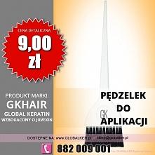Global Keratin pędzelek do aplikacji application brush cena 9zł sklep warszawa