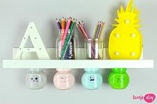 Back to school - 3 DIY z organizacji biurka - koniecznie zobacz
