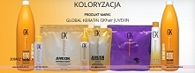 Koloryzacja GK Hair Global Keratin farby, developery, rozjaśniacze