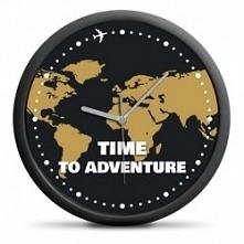 """Zegar Podróżnika """"Time to adventure"""" Kliknij w zdjęcie, by przejść ..."""