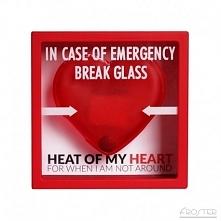 Love Emergency Frame - Zbij szybkę - Ramka w języku angielskim, przydatna gdy...