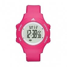 Adidas ADP3215 sportowy zegarek damski wykonany z różowego tworzywa na pasku....