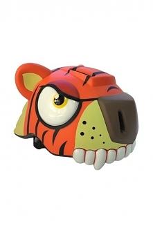 Kask dla dzieci CRAZY STUFF Tygrys super prezent !!! Dla chłopca bezpiecznie ...