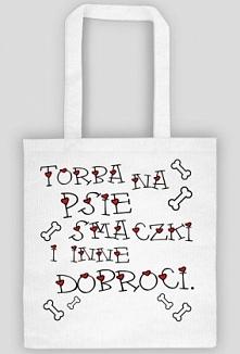 Torba na psie smaczki i inne dobroci dostępna na psino.cupsell. pl  Klik w zd...