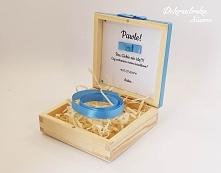 Pudełko na prezent z prośbą o świadkowanie