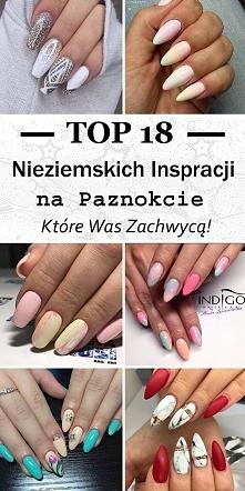 TOP 18 Nieziemskich Inspiracji na Paznokcie, Które Was Zachwycą!