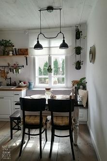 Projekt FARMHOUSE - kuchnia w wiejskim stylu  Projekt Wnętrza - Magdalena Kru...