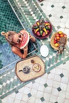 Basen + jedzenie! Czy tak wygląda Raj? <3