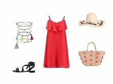 Czerwień + falbany to idealne połaczenie na lato > więcej czytaj na naszym blogu: najlepszesukienki.pl