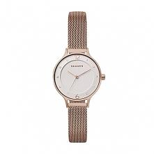 Skagen SKW2650 damski zegarek wykonany ze stali szlachetnej w kolorze złotym ...