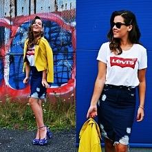 Levis T shirt od kudli56 z 17 sierpnia - najlepsze stylizacje i ciuszki