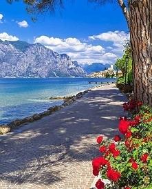 Malcesine, Włochy :)