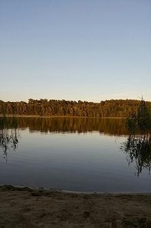 Cisza i spokoj, piekna i spokojna toń jeziora. Sierpień 2017 Moje miejsce na ziemi