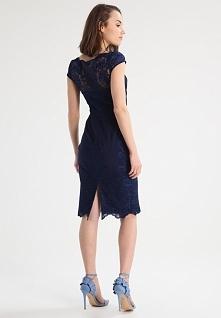 Koronkowa sukienka koktajlo...